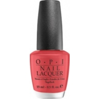 paint my moji-toes red - OPI